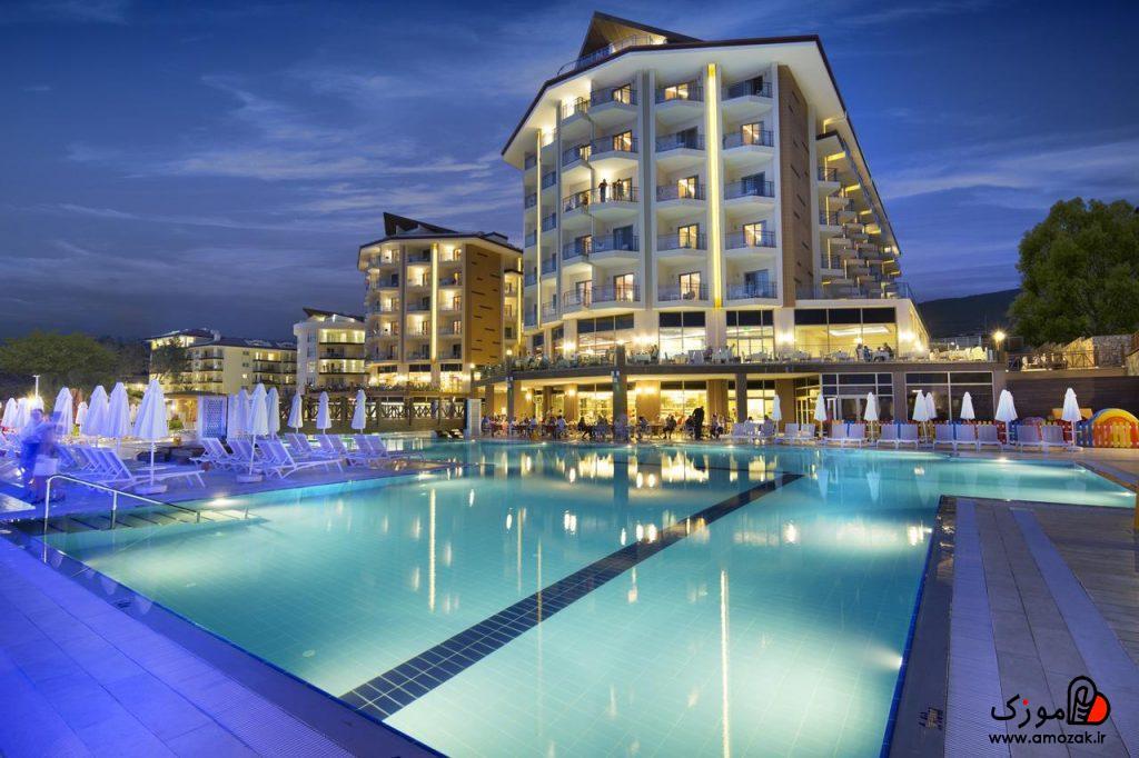 سفرنامه کوش آداسی هتل رامادا