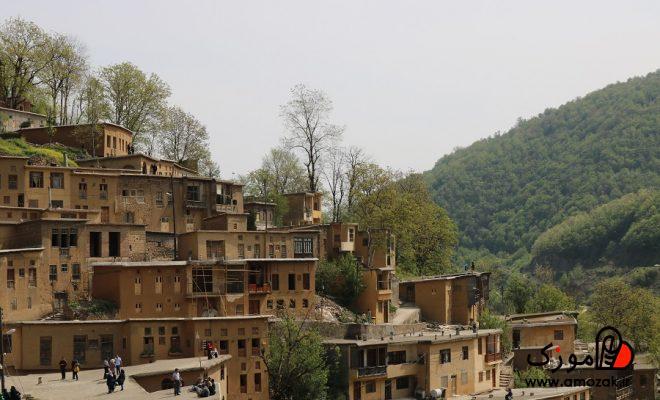 عکس هایی از روستای ماسوله