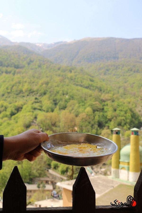 صبحانه محلی در ماسوله