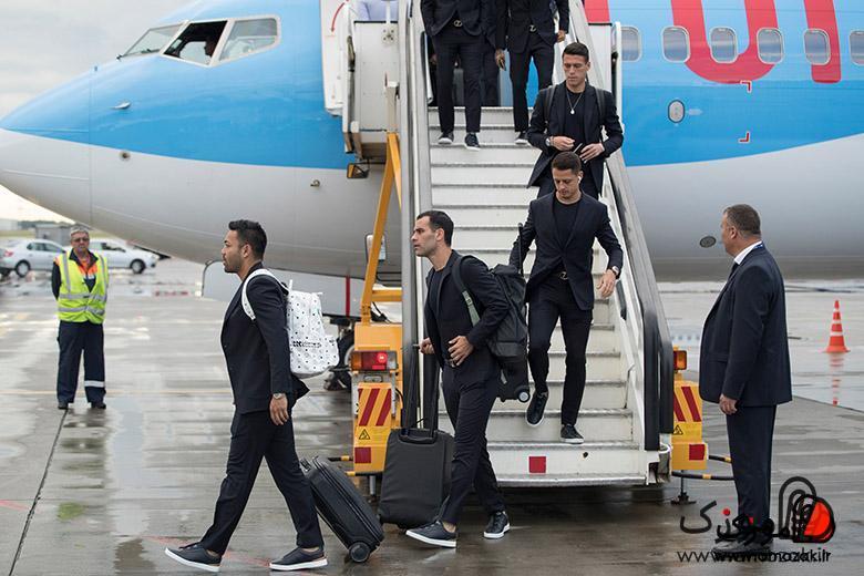 ژاوی هرناندز؛ بازیکن معروف دیگر تیم مکزیک با ایرپاد اپل