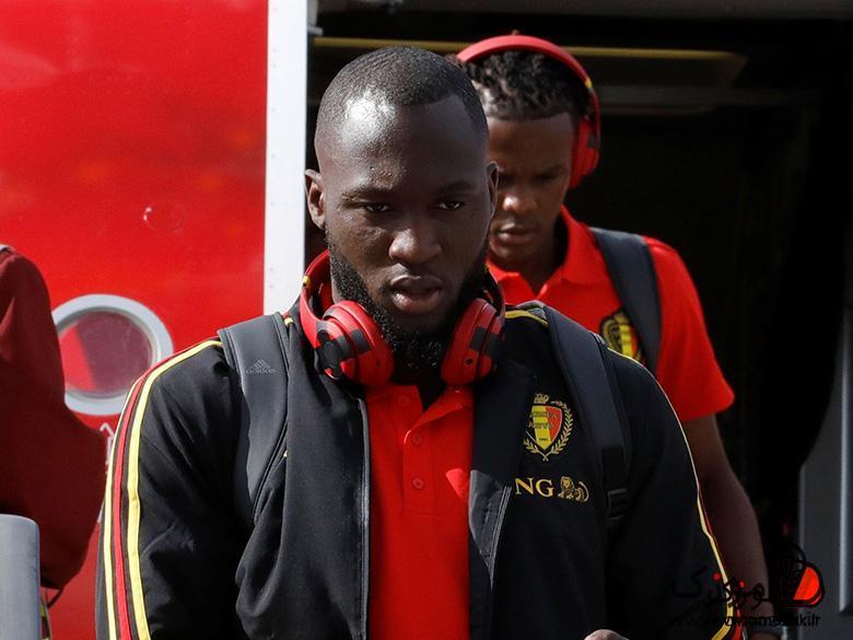 رملو لوکاکو، مهاجم تیم ملی بلژیک با هدفونهای Beats