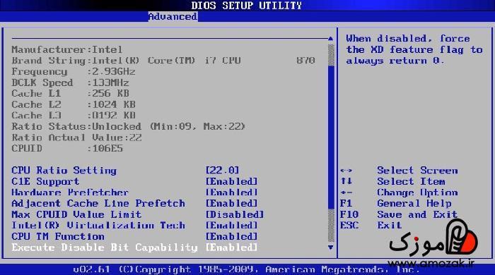 BIOS کامپیوتر چیست و کجاست؟ چه کارهایی انجام می دهد؟