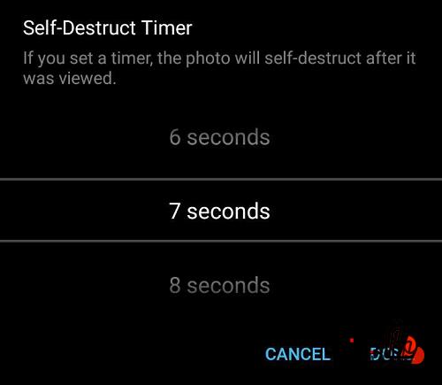 تعیین زمان برای حذف خودکار تلگرام