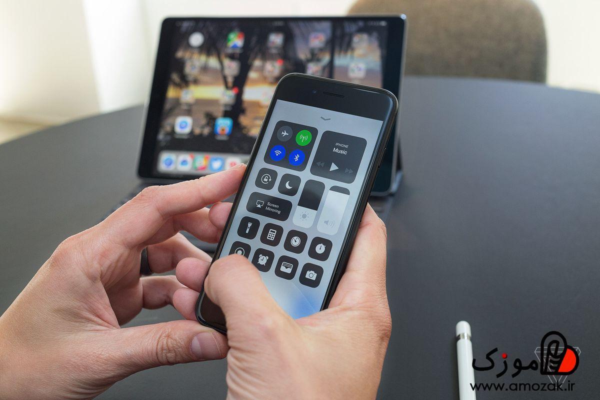 تصویر حل مشکل پیدا نشدن هات اسپات آیفون در iOS