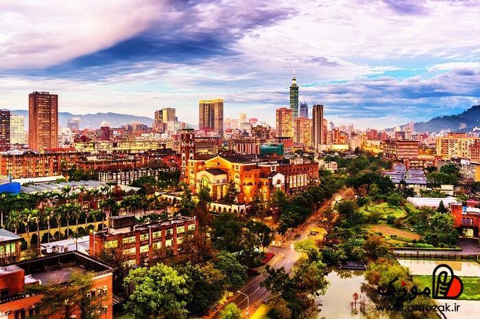 بهترین جا برای مسافرت خارج از ایران: تایپه ، تایوان