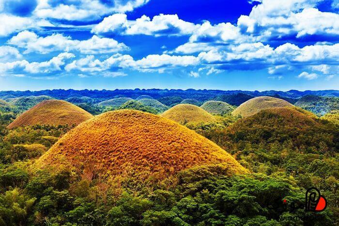 از کشورهای مناسب برای سفر در پاییز بوهول ، فیلیپین