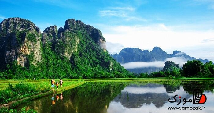 ونگ وینگ ، لائوس ازبهترین جاها برای مسافرت