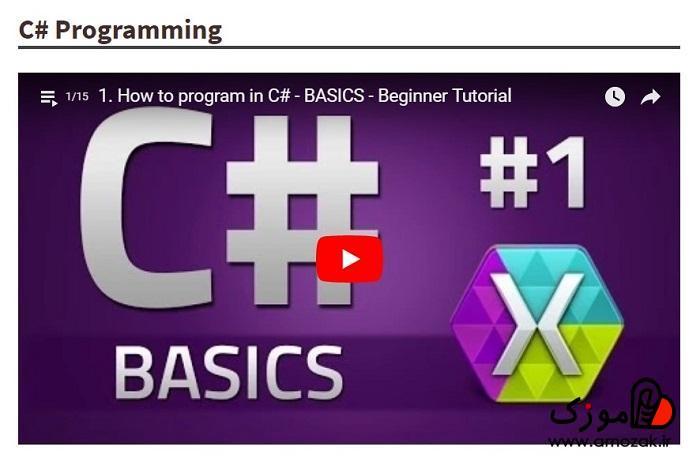 بهترین زبان برنامه نویسی برای یادگیریC#