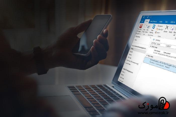 تصویر آموزش کامل ارسال اس ام اس با کامپیوتر و لپ تاپ