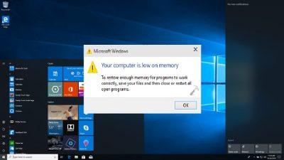 بهترین روش دو برابر کردن رم کامپیوتر بدون ارتقای قطعات در ویندوز ۱۰