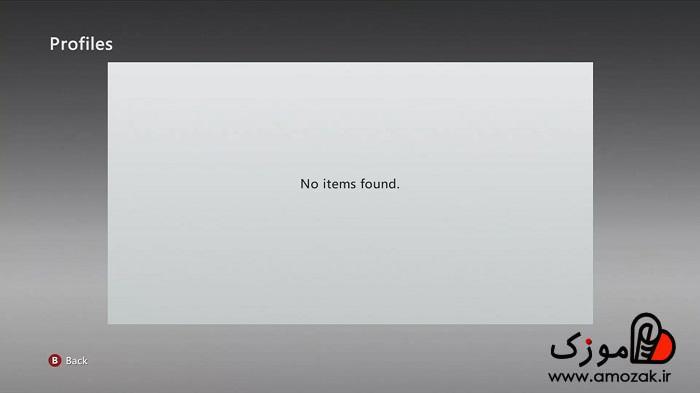 حذف پروفایل در xbox360