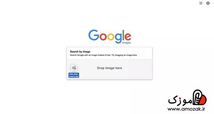 سرچ عکس در گوگل با آیفون