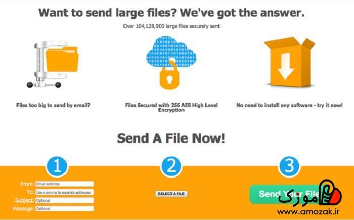 DropSend و آپلود فایل پر حجم : ارسال فایلهای حجیم از طریق واتساپ