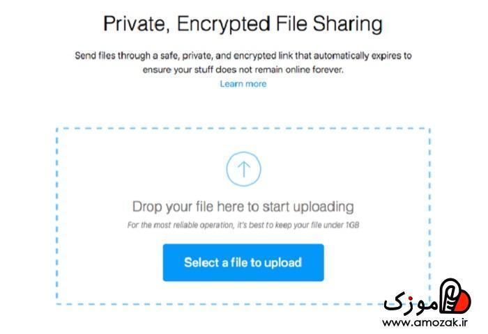با Firefox send ایمیل با حجم بالا ارسال کنید