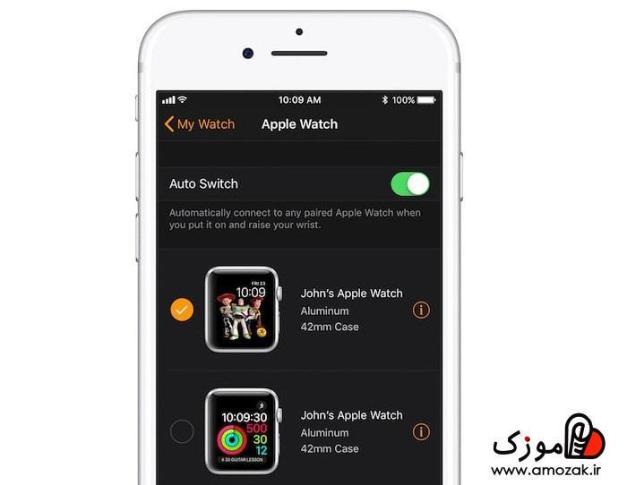 آموزش ست و وصل کردن اپل واچ با گوشی جدید