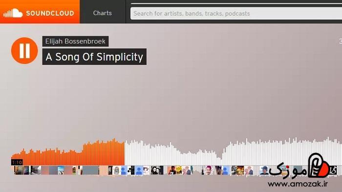 موسیقی آنلاین و موسیقی آفلاین با ساند کلود SoundCloud