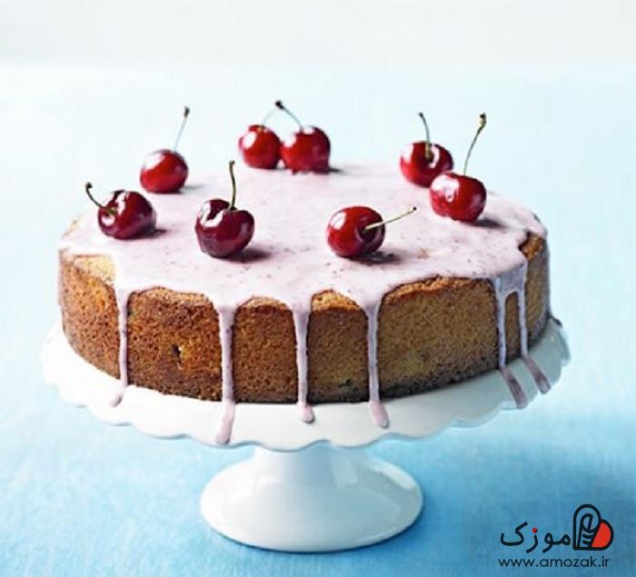 کیک اسفنجی رژیمی و کیک رژیمی بدون گلوتن